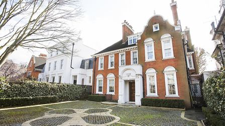 This six-bedroom detached house on Avenue Road is available to rent for more than �30,000 per month