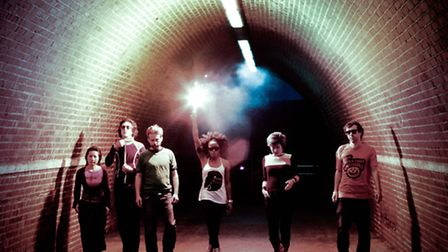 The Go! Team Tunnel. Picture: Channel 4 Television 2010