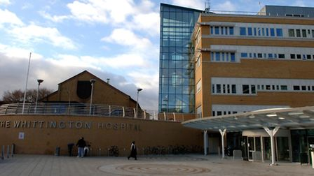 The Whittington Hospital in Archway, N19