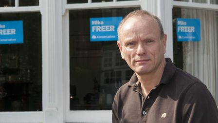 Mike Freer Tory candidate for Finchley & Golders Green