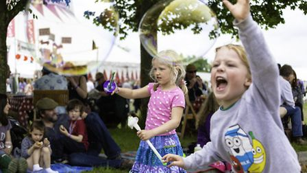The guide will include our pick of the best family-friendly festivals. Photo: Wychwood Festival