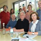 Committee members of the Mansfield Neighbourhood Group. From left, Patrick Lefevre, Juliet Singer, A