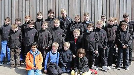 The 24-man team from The Hall School