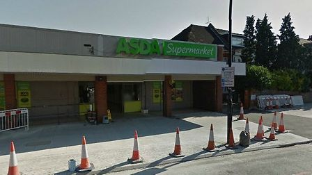 The supermarket in Stamford Hill
