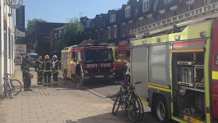 The London Fire Brigade was called to Gordon House Road this morning after some suspicious powder wa