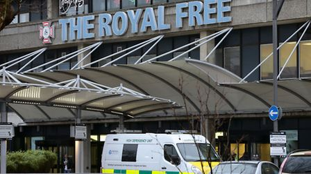 The Royal Free's air conditioning may have accidently been pumping out hot air instead of cold
