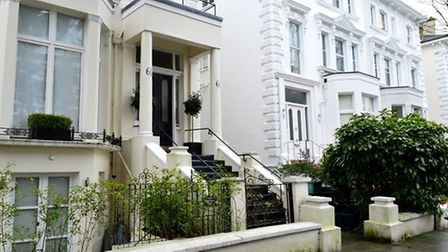 Houses in Belsize Park, NW3