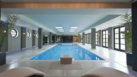 A swimming pool is a basic necessity in the new wave of billionaire home