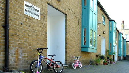 Families are being evicted from Green Yard, in King's Cross, as Camden Council has called time on it