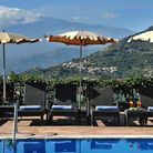View from the pool at Villa Angela