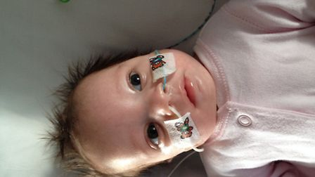 Baby Jasmin died after 18 weeks