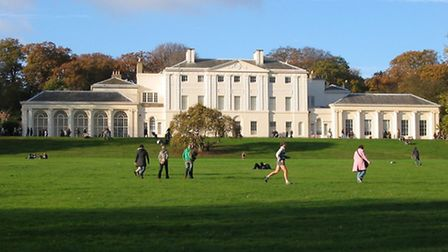 Kenwood House has thrown out the art group after the altercation