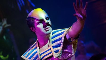 Joe McElderry in Joseph and the Amazing Technicolor Dreamcoat. Picture: Mark Yeoman.