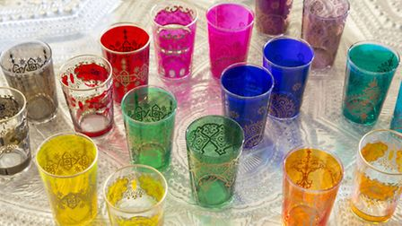 Moroccan Tea Glasses, available from RE. PA Photo/Handout