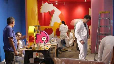 Progress is being made on the Thierry Noir Jazz exhibition