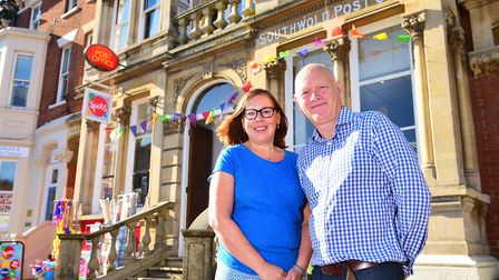 Guy Mitchell and Sarah Green are moving on from Spots after 11 years at the helm. Picture: Nick Butc