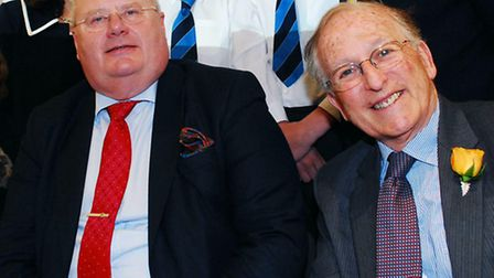 Conservative MP Eric Pickles and Lord Janner. Picture: Polly Hancock.