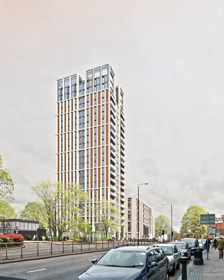 What the new Swiss Cottage tower will look like