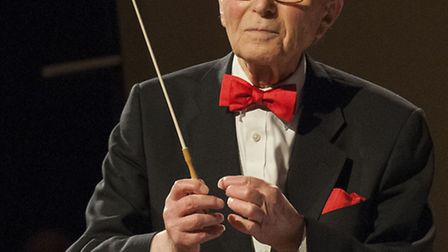 David Littaur was invited to conduct one piece to celebrate his 90th year