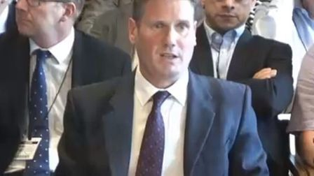 Sir Keir Starmer gives evidence to the HS2 Select Committee