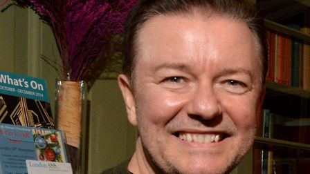 Ricky Gervais at the event