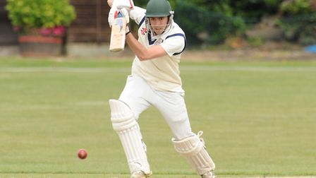 George Adair struck 73 for Hampstead against Ealing. Pic: Paolo Minoli