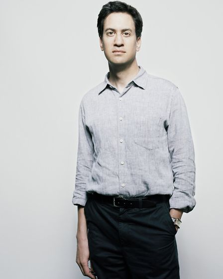 Former Labour leader Ed Miliband. Picture: National Portrait Gallery
