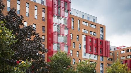 The St Pancras Way flats in Camden have been accused of being unaffordable