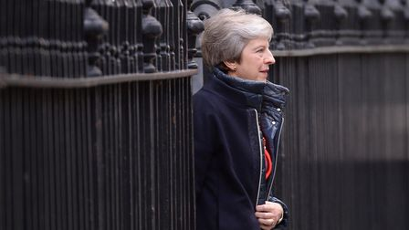 """Prime minister Theresa May has told her minister's she won't agree a withdrawal deal with the EU """"at"""
