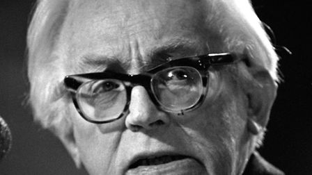 Michael Foot. Picture: PA.