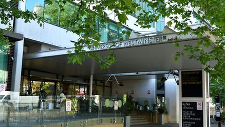 The University of Westminster's main campus in Marylebone. Picture: Polly Hancock