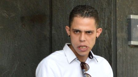 Henrique Coceicao walked free from court yesterday. Picture: Polly Hancock