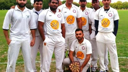 Sky CC are champions of the Victoria Park Community Cricket League division four