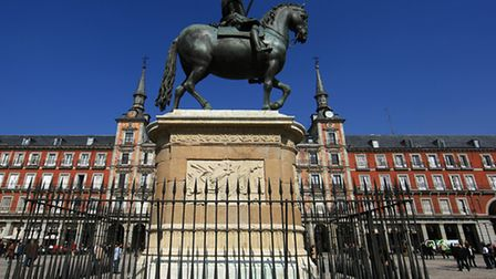 The Plaza Mayor in Madrid. Picture: Adam Davy