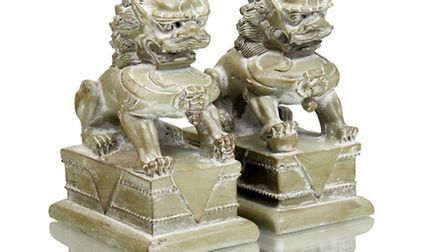 Chinese dragon bookends, �36.50, available from Within. PA Photo/Handout
