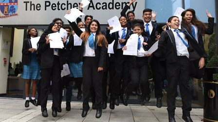 GCSE Results from the Petchey Academy in Hackney