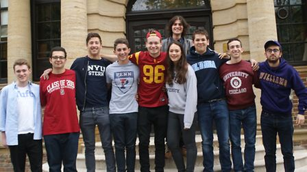 The record number of pupils from UCS who are going on to study in the USA