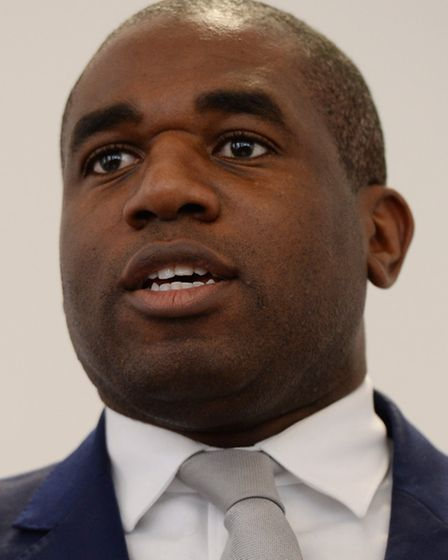 David Lammy, Labour MP for Tottenham and mayoral candidate