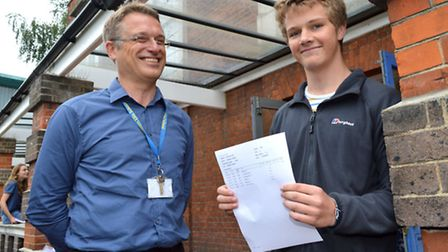 La Swap pupil Matthew Walker aged 16 who scored an A in his mathematics A-level despite only being i