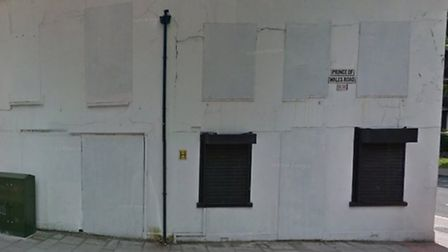 The former solicitors' office has been derelict for 10 years