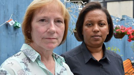 Brenda Smith and Tensaye Mehdaoua have spoken out about the controversial merger of Torriano Infants