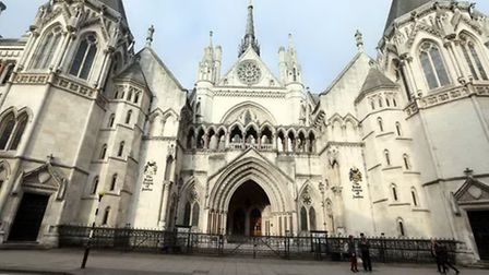 The fugitive pensioner was arrested inside the Royal Courts of Justice. File picture: PA Wire