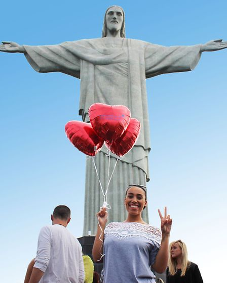 Hampstead blogger Laila Swann in Rio de Janeiro, whose men often engage in 'crowd dating'