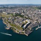 Plymouth Aerial View