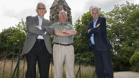 CampaignersJeff Gold,Michael Taylor and Chris Fagg who have argued the Royal Free/UCL Pears Buildi
