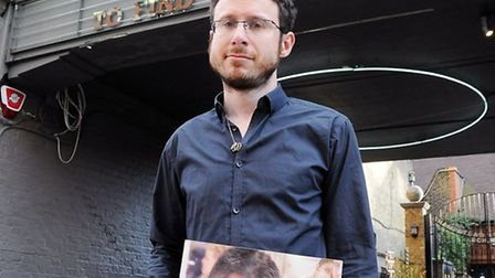 Matt Ogston outside the Everyman Cinema. Picture: Dieter Perry.
