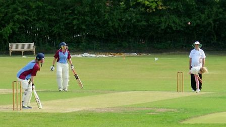 Hampstead Ladies bat against Finchley