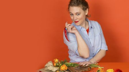 Clair Whitefield in Chopping Chillies