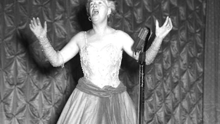 Singer Gracie Fields in 1952. She lived in a house called Blue Tiles on Frognal Way