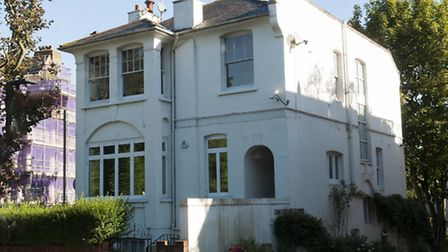 The Hampstead house which is the subject of the alleged fraud. Picture: Nigel Sutton